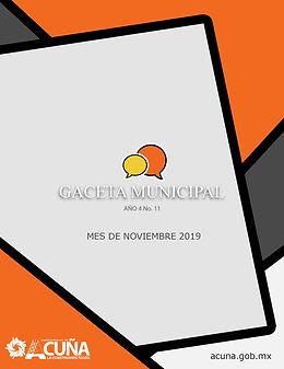 Portada GACETA noviembre.jpg