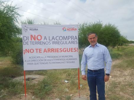 BUSCA EL MUNICIPIO UN CRECIMIENTO ORDENADO EN LA CIUDAD.