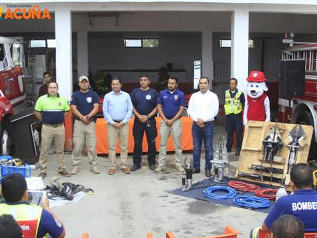 DOTAN DE EQUIPO A PROTECCIÓN CIVIL MUNICIPAL.