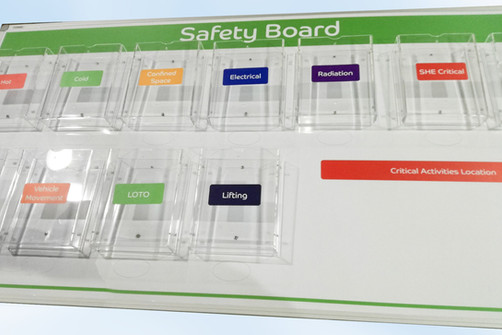 Safety Notice Board