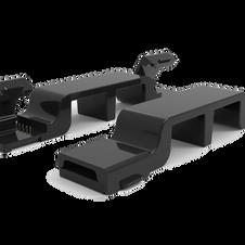 Under-Cabinet LED Connector Bridge