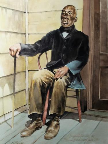 Benjamine Perrine, Last Slave