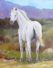 Standing White