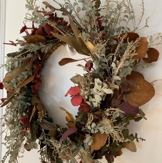 Dried Eucalyptus Wreath