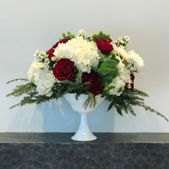 Large accent floral piece