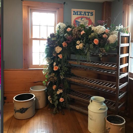 Farm House Floral Installation