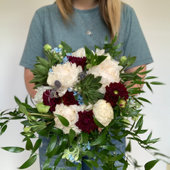 4th of July Wedding Bouquet
