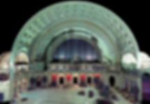Union Station - laser scan data of site