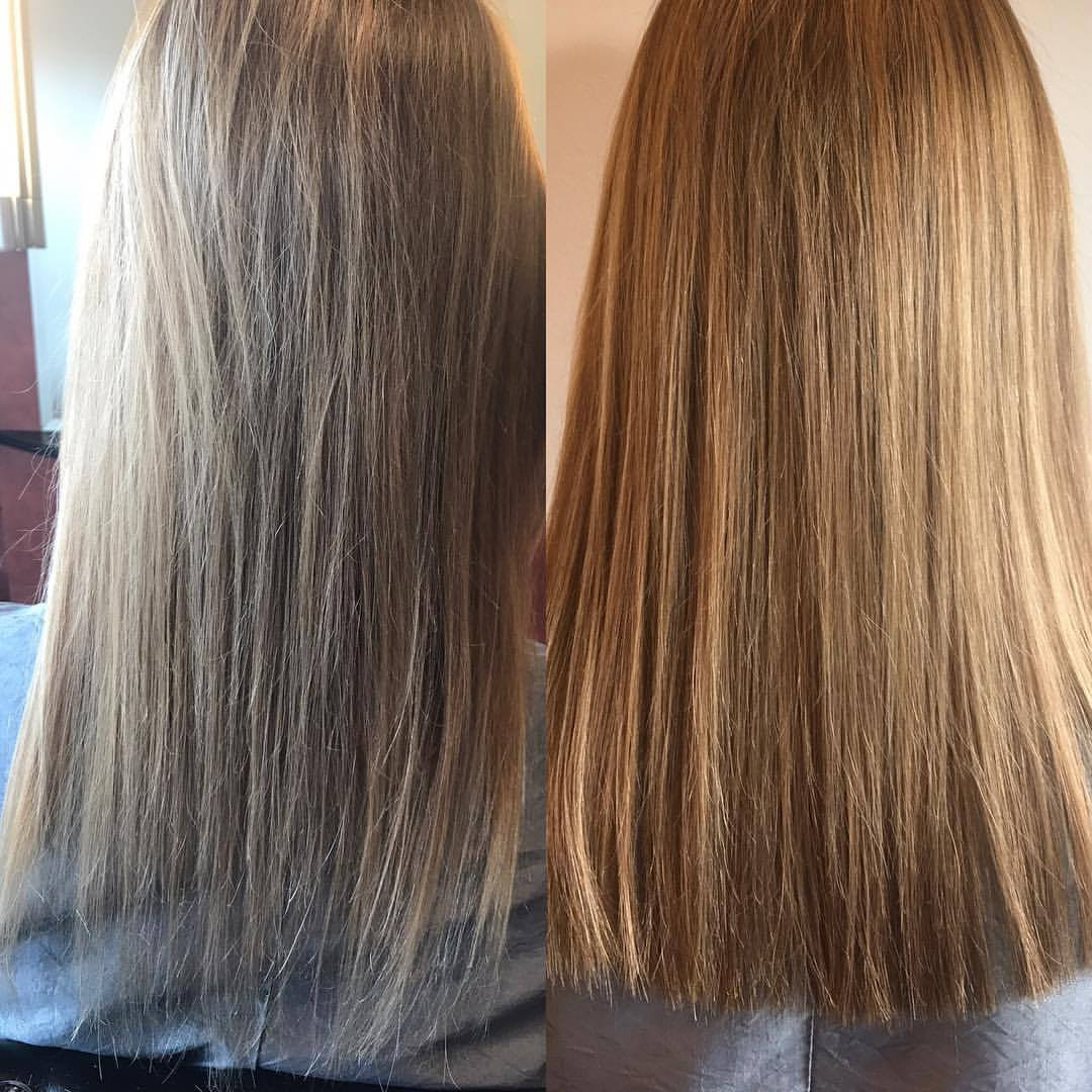 Just One Pack Of Babe Fusion Hair Extensions Cut In Half Can Make A