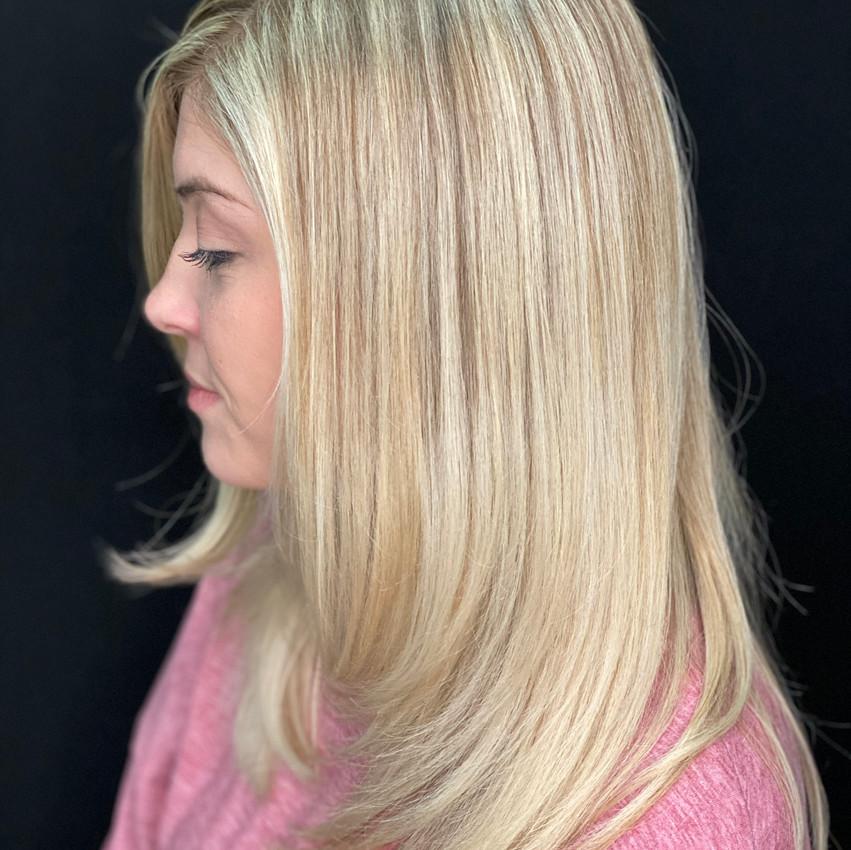 Blonde Balayage Baby