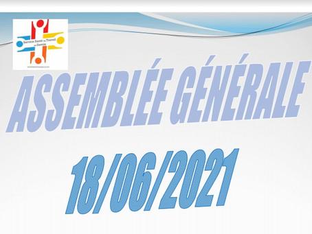 Compte rendu Assemblée générale du 18 Juin 2021