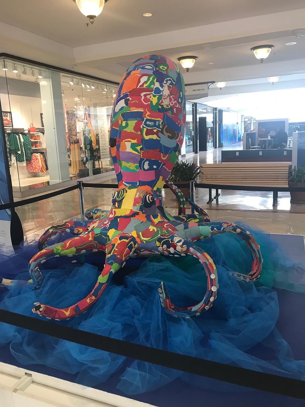 inky, octopus, seaquest, woodbridge mall