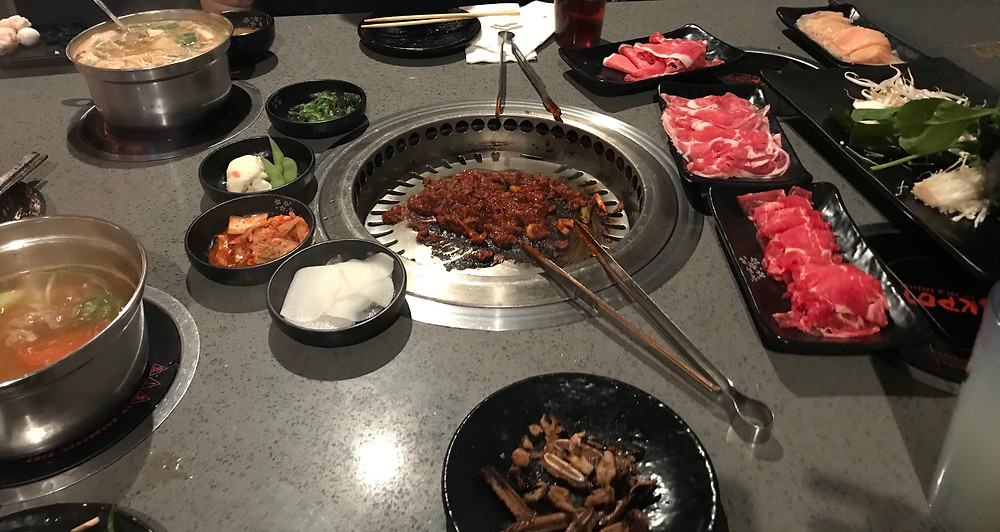 k-pot, hotpot, BBQ, meat, grill