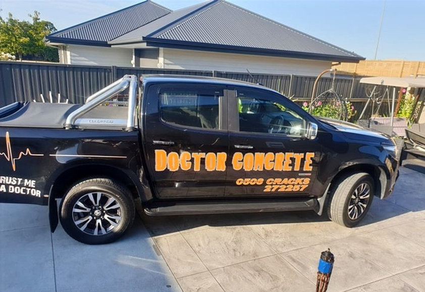 Doctor Concrete Vehicle Christchurch