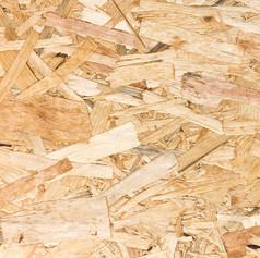 OSB (orinted straw board)