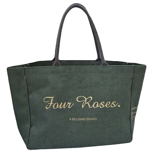 Four Roses - Jute Shopper