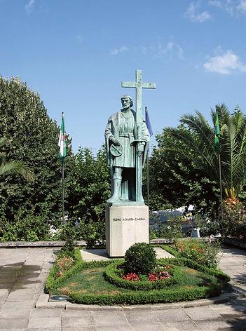 Statue-Pedro-Alvares-Cabral-Belmonte-Por