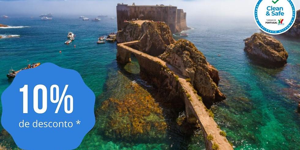 Peniche + Ilha da Berlenga | 1 dia 58.50€ - 25/07