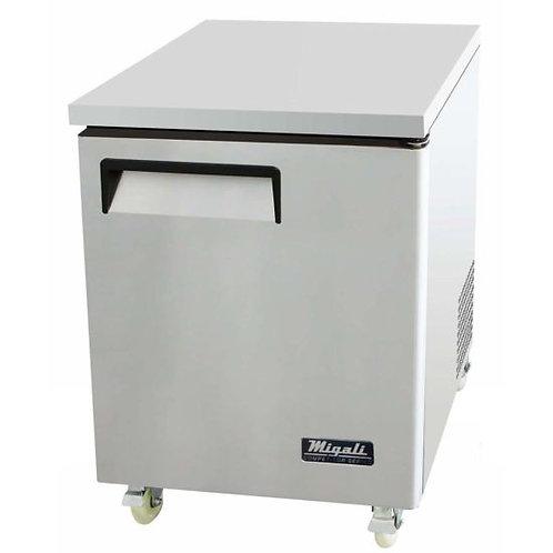 "Migali C-U27R 28"" Undercounter Work Top Refrigerator - 6.5 Cu. Ft."