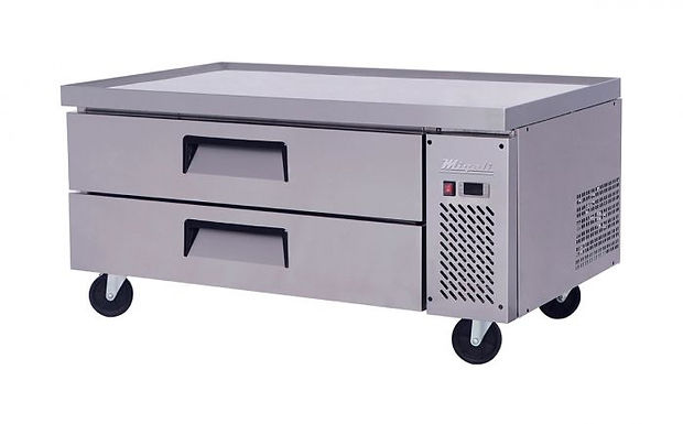 "Migali C-CB52 52"" Chef Base Refrigerated Equipment Stand, 2 Drawer"