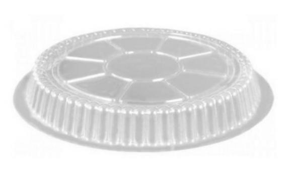 "AMD Choice LD36, 8"" Clear Dome Plastic Lids for AMD8, 500/Cs"