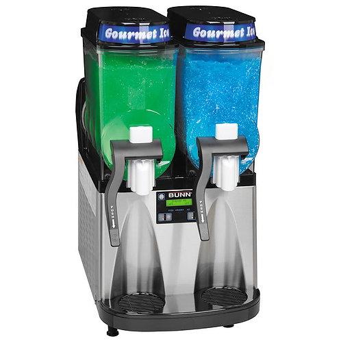 "Bunn ULTRA-2 HP Ultra Gourmet Ice Frozen Drink Machine w/ (2) 3 gal Bowls, 16""W,"