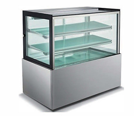 "Universal BCI-48-SC 48"" Refrigerated Bakery Display Case with 2 Shelves"