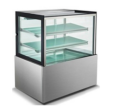 """Universal BCI-36-SC 36"""" Refrigerated Bakery Display Case with 2 Shelves"""