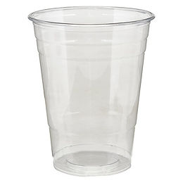 AMD Choice 16 oz. Clear PET Plastic Cold Cup - 1000/Case