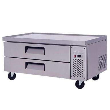 "Migali C-CB48 48"" Chef Base Refrigerated Equipment Stand, 2 Drawer"