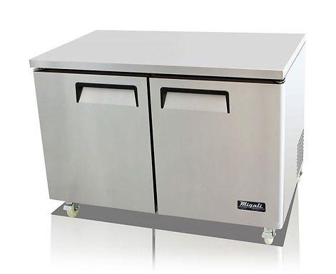"Migali C-U48R 48"" Undercounter Work Top Refrigerator - 12 Cu. Ft."