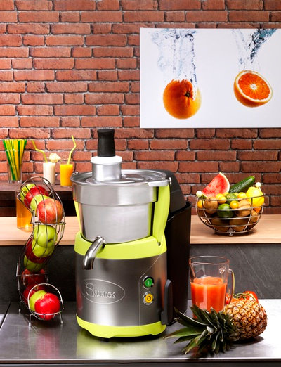 Santos 68 Commercial Fruit & Vegetable Juicer with Pulp Bucket
