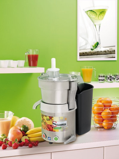 Santos 28 Commercial Centrifugal Fruit and Vegetable Extractor