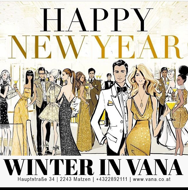Happy NEW YEAR - WINTER in VANA