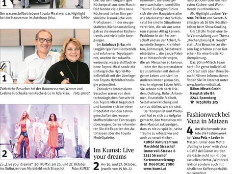 FashionWEEK bei VANA in Matzen
