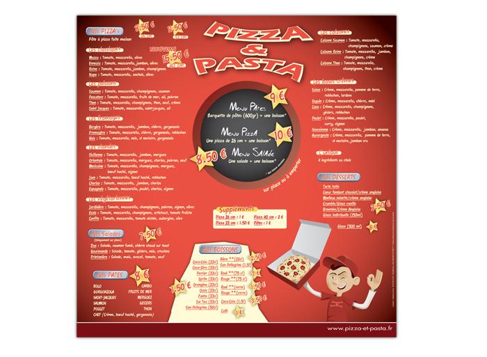 Pizza et Pasta