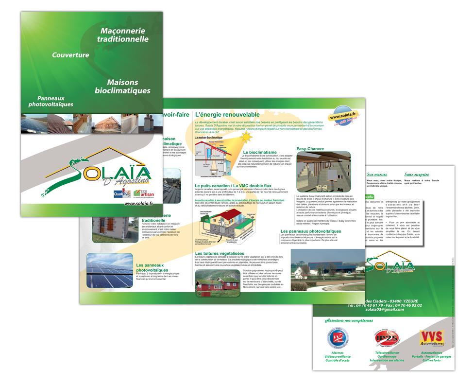 Plaquettes Solaia - Energie Nouvelle