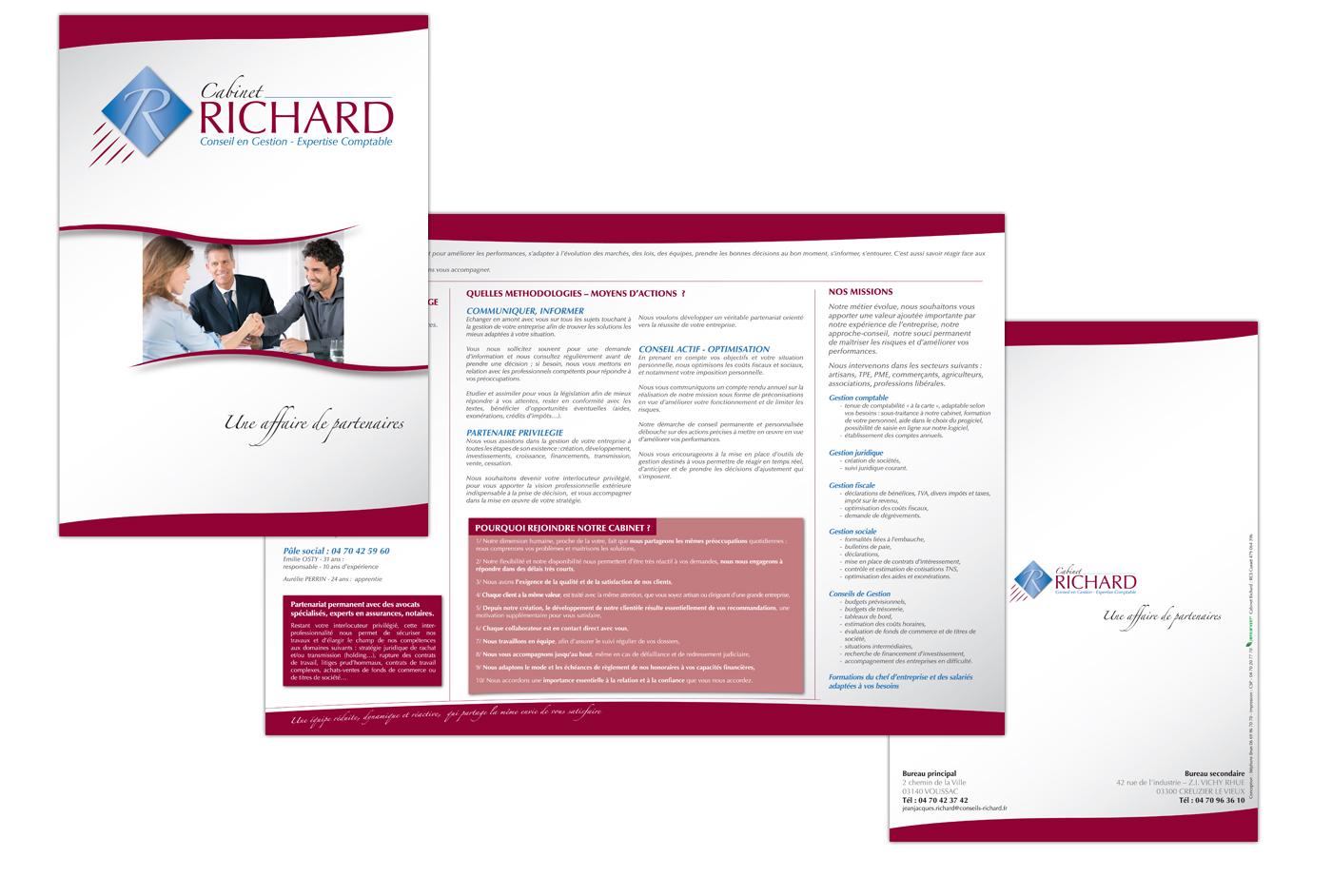 Plaquette Richard - Expert comptable