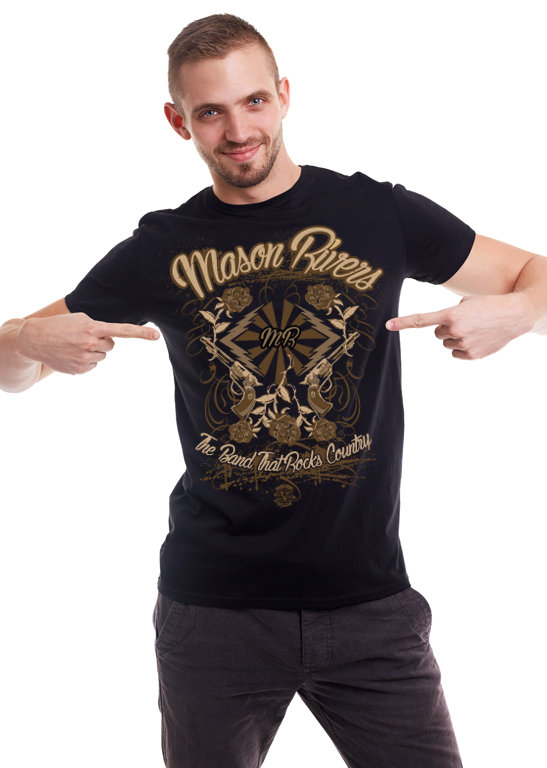 Mason Rivers Mens T-Shirt