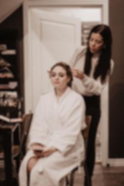 asthildurmakeup bridal hair