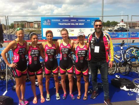 Bilan 2017 pour les Equipes Féminine & Masculine de Triathlon