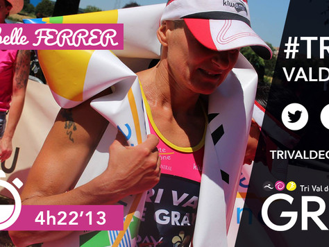 Triathlon L de Gray - Record de l'épreuve femme