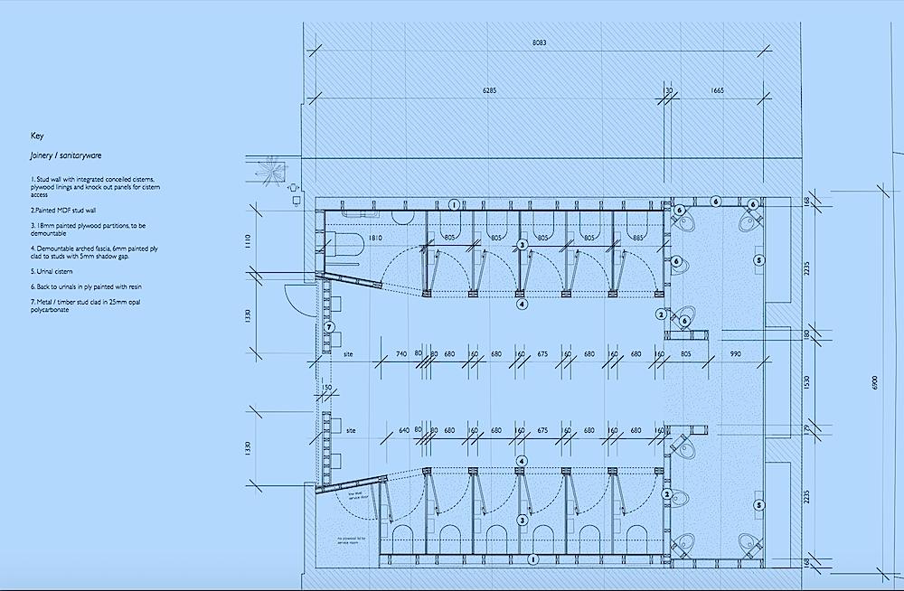 Washroom Plans