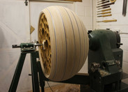 Turned on a VB36 wood lathe