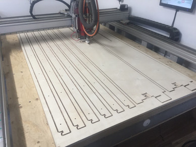 CNC router Fabrication Opendesk