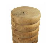 Oak Bump Side table