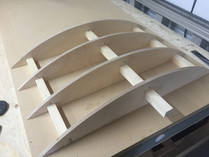 Curved Kitchen Unit Construction For Dav