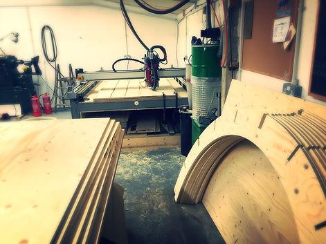 Plywood cnc cutting