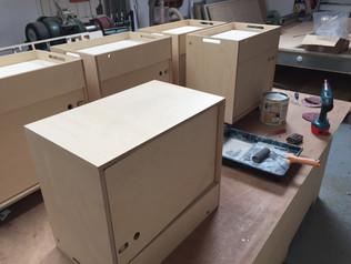 CNC Opendesk Making Pedestals
