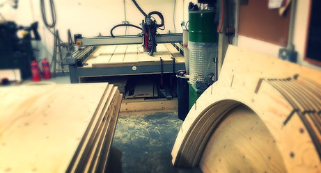 CNC cutting Plywood in Kent
